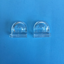CLEAR PLEATED BLIND FINGER TAB HANDLES 1 X PAIR